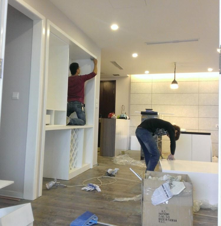 Hoàn thiện chung cư xây thô
