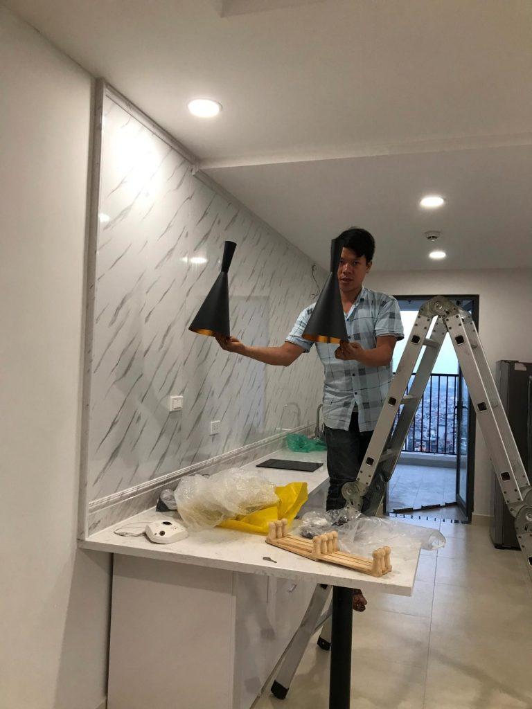 bổ sung trang thiếtbị điện nước để hoàn thiện căn hộ