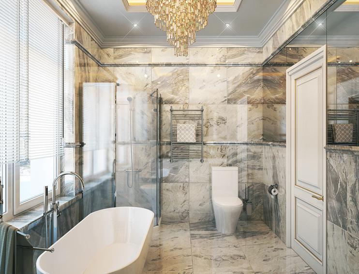 Tư vấn thiết kế phòng tắm đẹp năm 2018