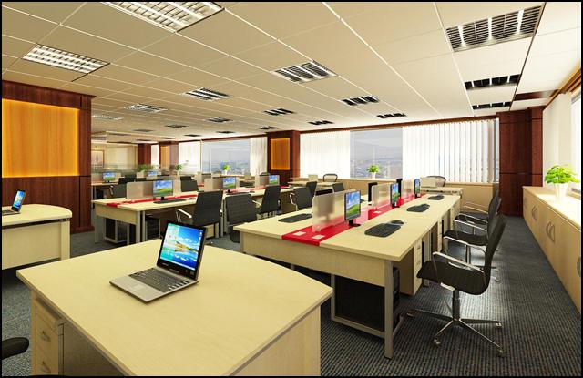 Tư vấn thiết kế nội thất văn phòng 60m2