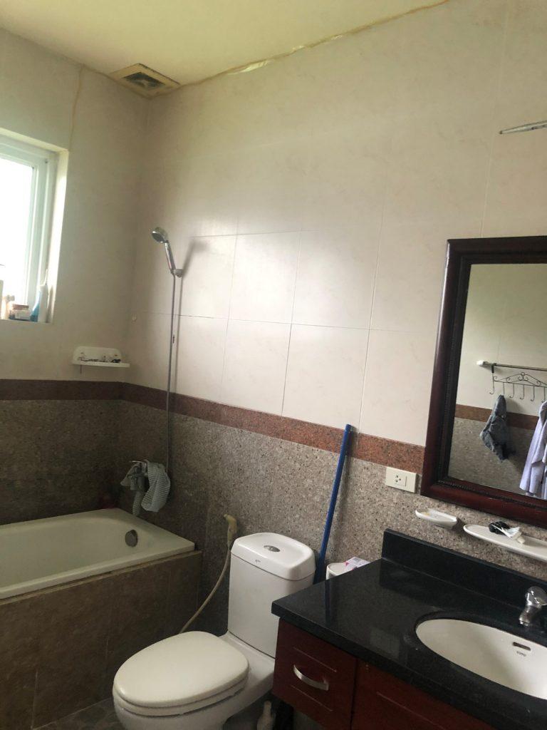 Khu vực WC đầy đủ tiện nghi