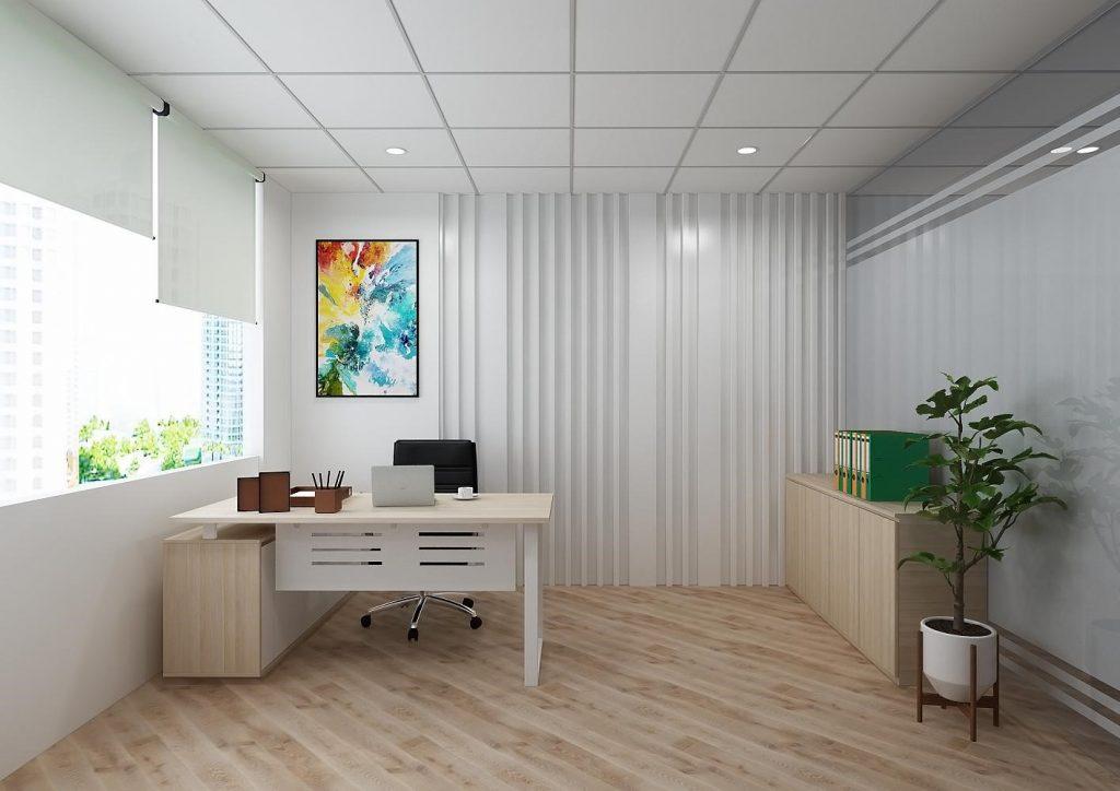 Chọn thi công văn phòng Dr House - chọn niềm tin và chất lượng