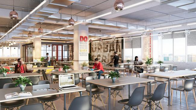 Phong cách thiết kế nội thất văn phòng Coworking