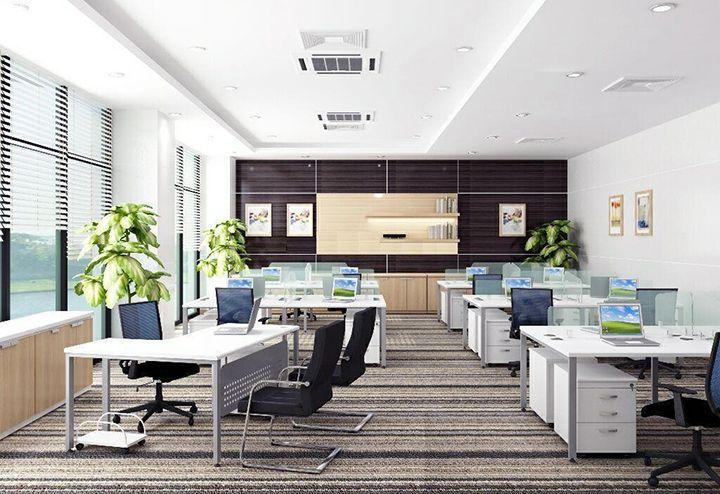 Thiết kế nội thất văn phòng thoải mái mang phong cách hiện đại