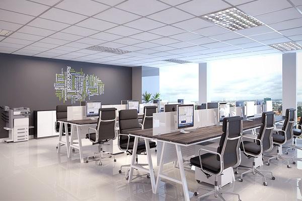 Một số lưu ý trong thiết kế nội thất văn phòng đẹp
