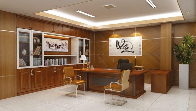 Một số lưu ý khi thiết kế nội thất phòng giám đốc theo phong thủy