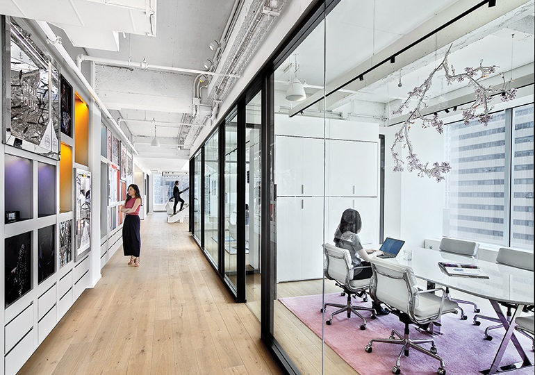 Thiết kế Văn phòng Swarovski New York lộng lẫy như cung điện