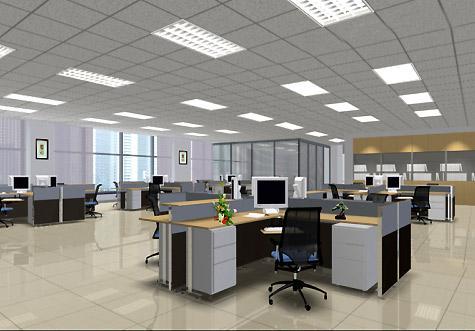 văn phòng quận 3 - phòng chung