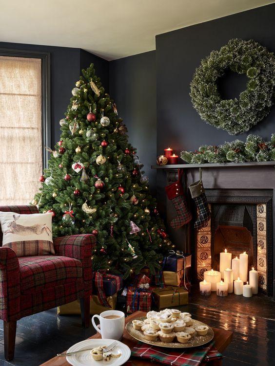 Trang Trí Giáng Sinh Với Màu Đỏ