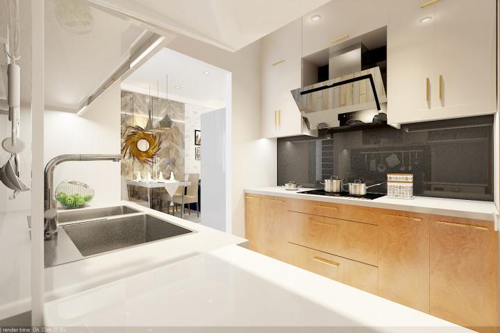 thiết kế thi công nội thất bếp
