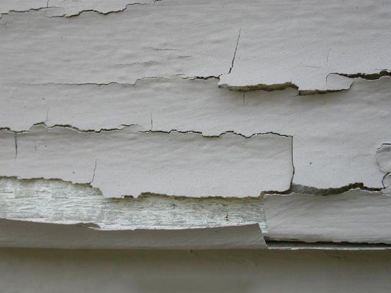 sửa chữa nhà - tường bị bong tróc
