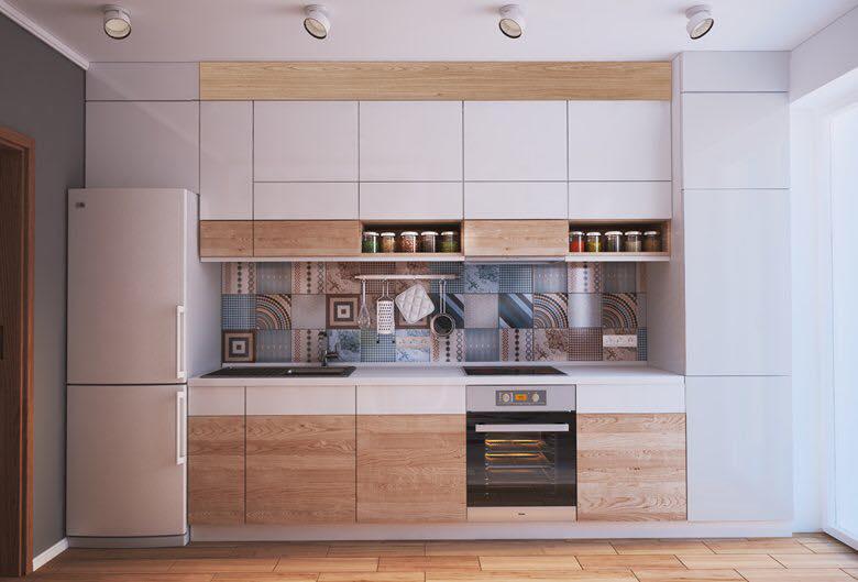nhà bếp chung cư 40m2