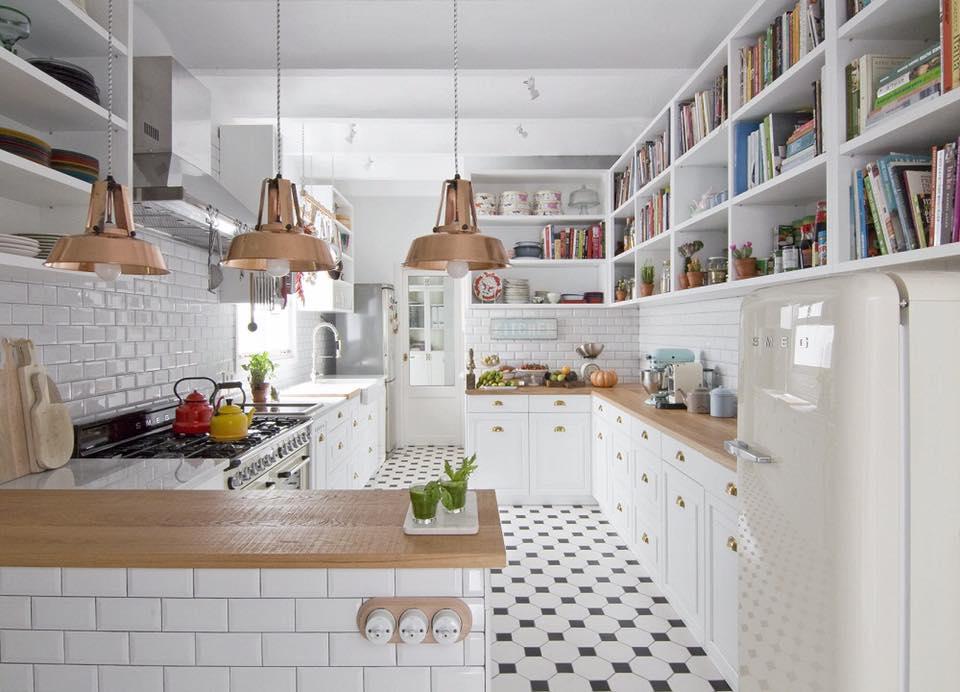 thiết kế bếp gọn tiện nghi