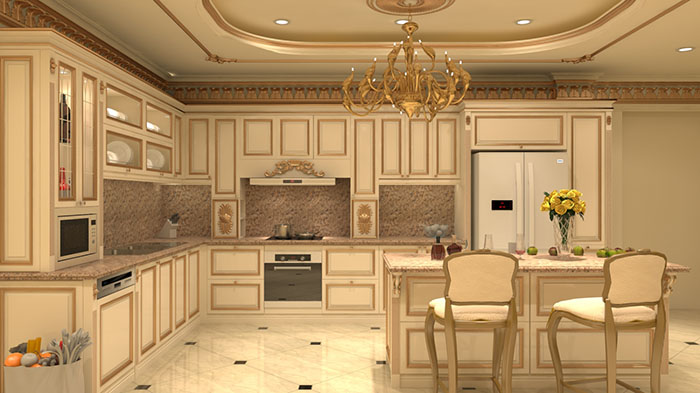 Sửa Chữa Biệt Thự Cần Lưu Ý Về Phòng Bếp