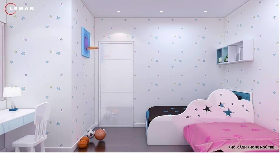 phòng ngủ cho bé jamona 70m2