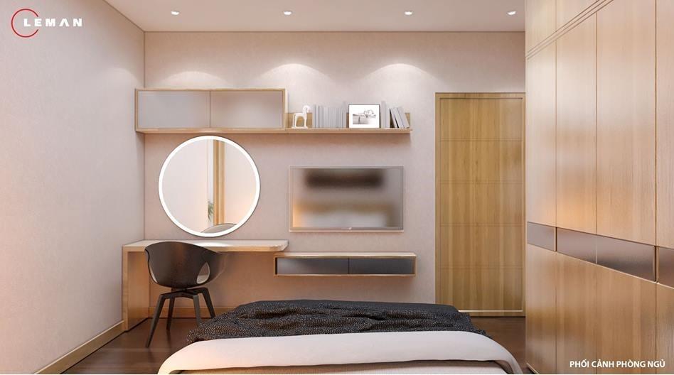 phòng ngủ master jamona 70m2