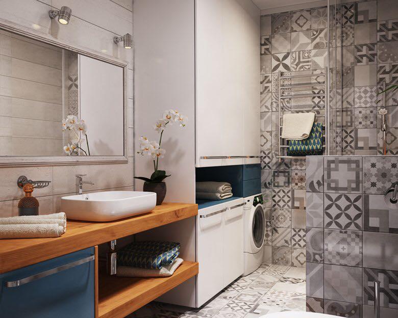 phòng tắm chung cư 40m2 2
