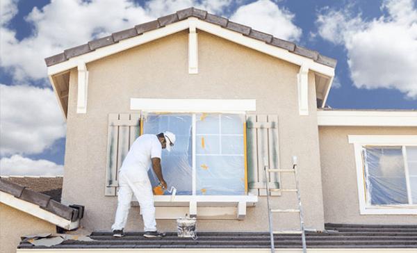 sửa chữa tường nhà đón tết