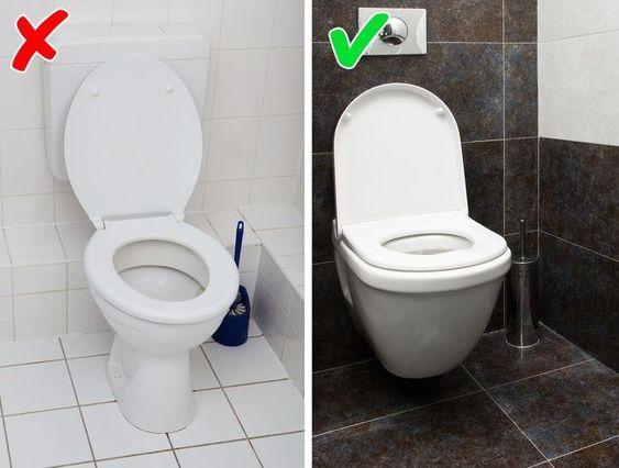 sai lầm trong thiết kế phòng vệ sinh khiến bạn bất an