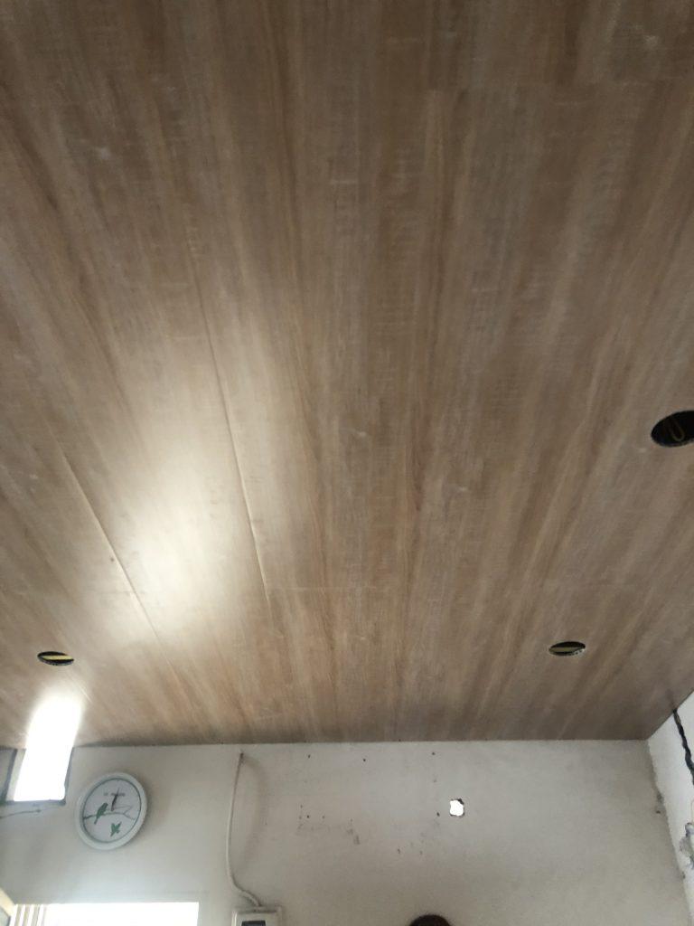 sửa chữa trần giả gỗ