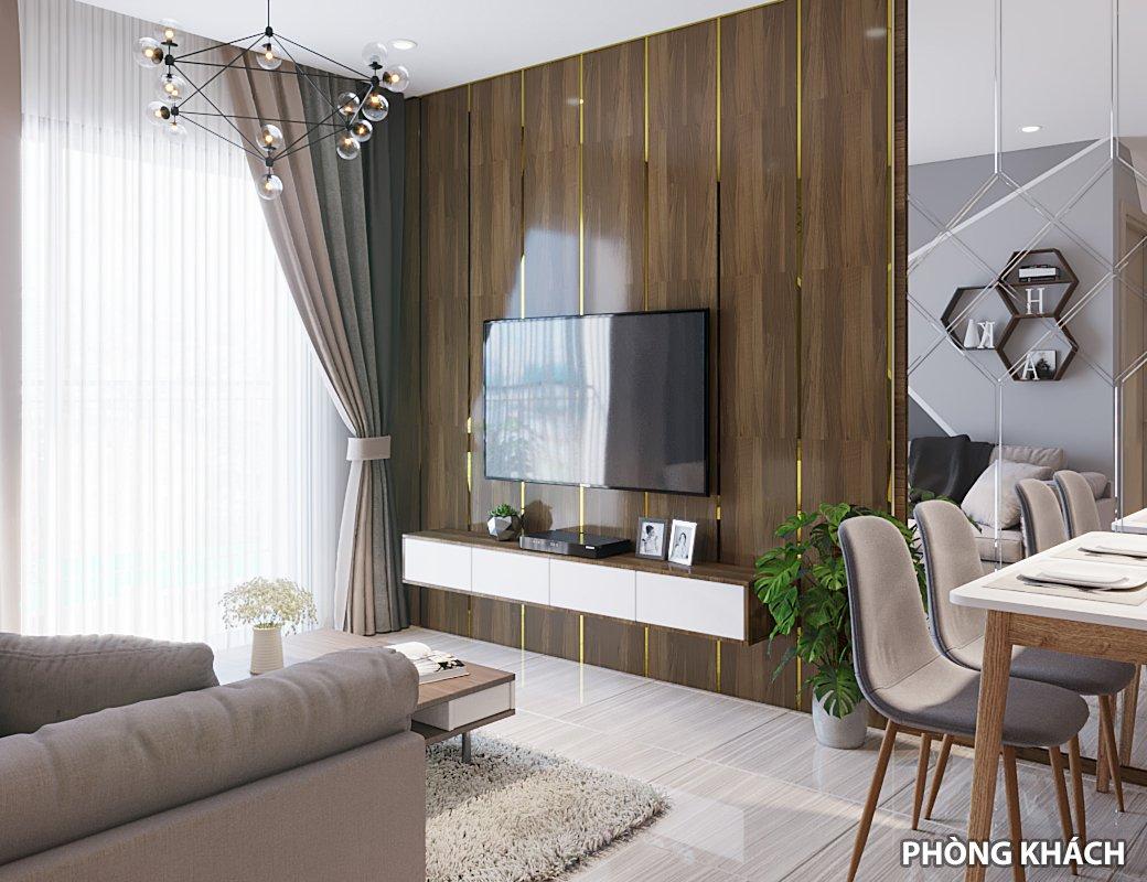 Thiết kế căn hộ phòng khách